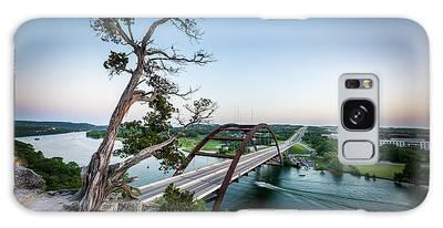 Pennybacker Bridge Austin Galaxy Case