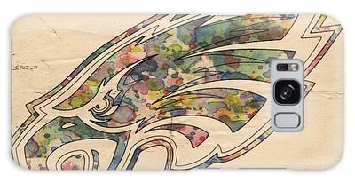 Philadelphia Eagles Poster Vintage Galaxy Case