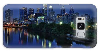 Philly Skyline Galaxy Case