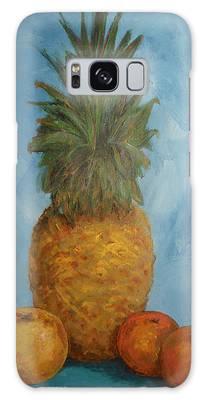 Pineapple Study No 2 Galaxy Case