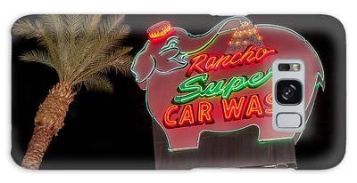 Pink Elephant Car Wash 36 X 24 Galaxy Case