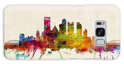 Pittsburgh Pennsylvania Skyline Galaxy Case