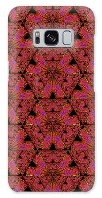 Poppy Sierpinski Triangle Fractal Galaxy Case