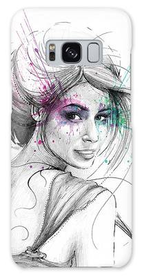 Colored Pencil Drawings Galaxy Cases