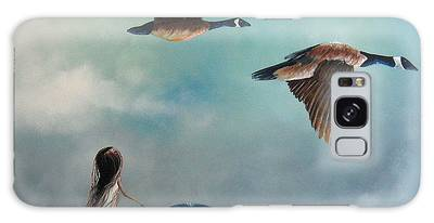 Geese Galaxy Cases