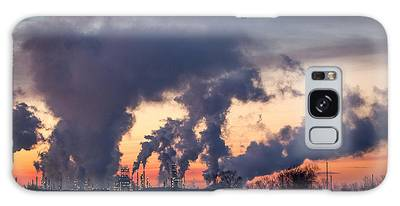 Galaxy Case featuring the photograph Flint Hills Resources Pine Bend Refinery by Patti Deters