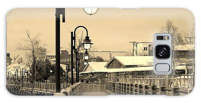 Galaxy Case featuring the photograph Riverfront by Cynthia Guinn