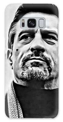 Robert De Niro Portrait Galaxy Case