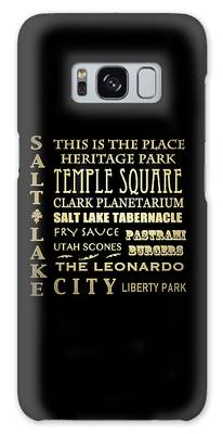 This Is The Place Digital Art Galaxy Cases