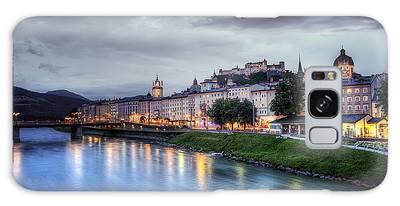Salzburg Sunset Galaxy Case