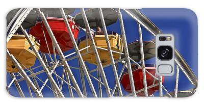 Santa Monica Pier Ferris Wheel Galaxy Case