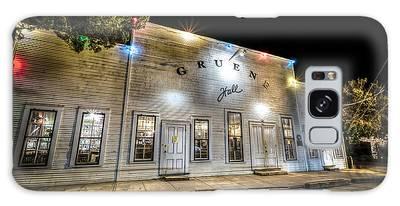 Saturday Night At Gruene Hall Galaxy Case