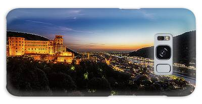 Galaxy Case featuring the photograph Schloss Heidelberg by Ryan Wyckoff