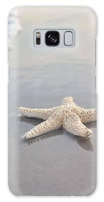 Calm Sea Photographs Galaxy Cases
