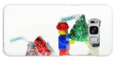 Sharing A Hug Galaxy Case