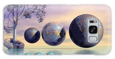 Silent Seven - Surrealism Galaxy Case