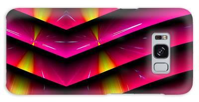 Galaxy Case featuring the digital art Simple Math by Visual Artist Frank Bonilla