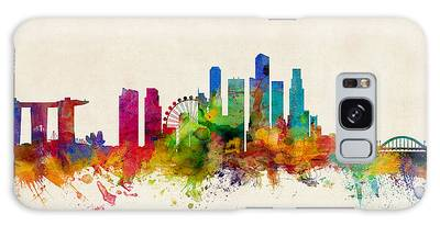 Singapore Skyline Galaxy Case