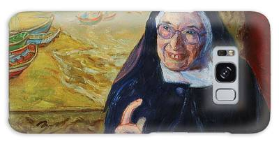 Sister Wendy Galaxy Case
