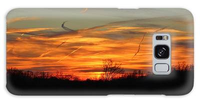 Galaxy Case featuring the photograph Sky At Sunset by Cynthia Guinn