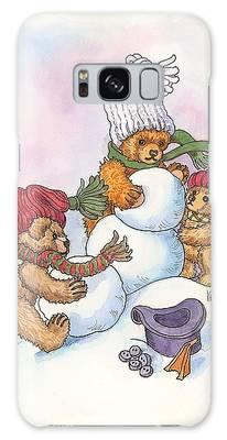 Snow Bears Galaxy Case
