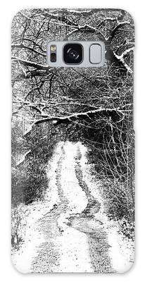 Snowy Path Galaxy Case