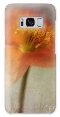 Orange Flower Galaxy Cases