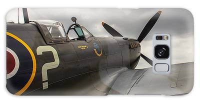 Spitfire On Display Galaxy Case