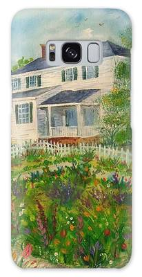 Spring In Colonial Williamsburg- Cole House Galaxy Case