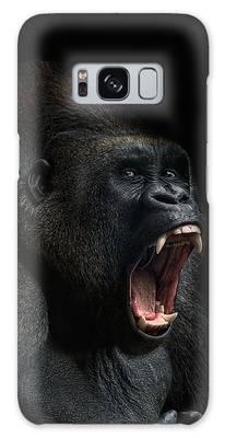 Gorilla Photographs Galaxy Cases