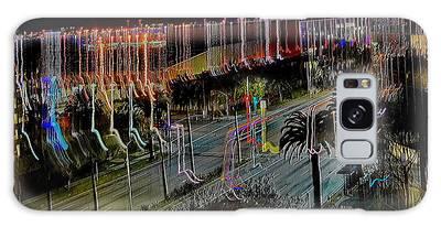 Galaxy Case featuring the digital art Street Art II by Visual Artist Frank Bonilla
