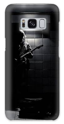 Galaxy Case featuring the photograph Subway Music Lawrence West Station Toronto Canada by Brian Carson