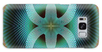 Galaxy Case featuring the digital art Sunday by Visual Artist Frank Bonilla