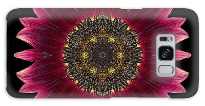 Sunflower Moulin Rouge I Flower Mandala Galaxy Case