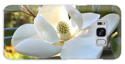 Sunlit Southern Magnolia Galaxy Case