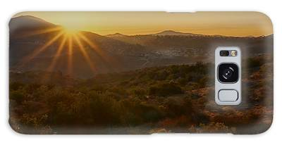Sunrise Mission Trails San Diego  Galaxy Case