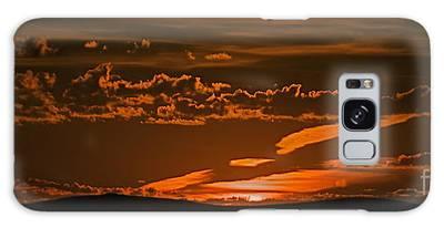 Sunrise Or Sunset Galaxy Case