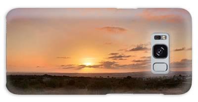 Sunset @ Rim Trail Galaxy Case