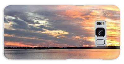 Galaxy Case featuring the photograph Sunset Magic by Cynthia Guinn