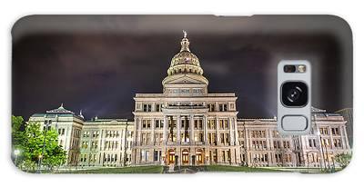 Texas Capitol Building Galaxy Case