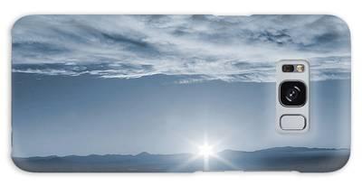 Thanksgiving Sunrise Mount Soledad  Galaxy Case