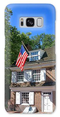 The Betsy Ross House Galaxy Case