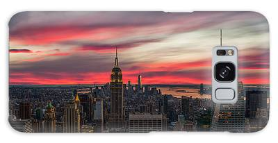 New York City Skyline Galaxy S8 Cases