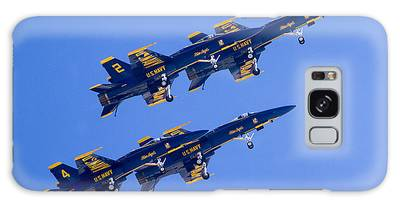 The Blue Angels In Action 3 Galaxy Case