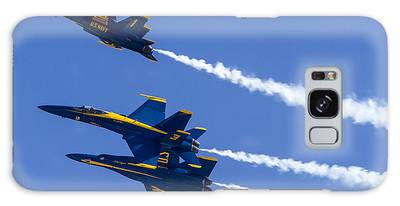 The Blue Angels In Action 5 Galaxy Case