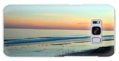 Galaxy Case featuring the photograph The Day Ends by Cynthia Guinn