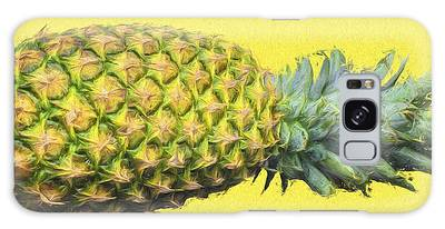 The Digitally Painted Pineapple Sideways Galaxy Case