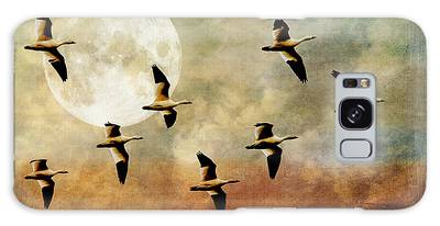 The Flight Of The Snow Geese Galaxy Case