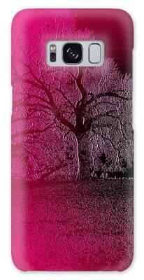 Galaxy Case featuring the digital art The Night by Visual Artist Frank Bonilla