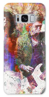 Rock N Roll The Rolling Stones Galaxy Cases